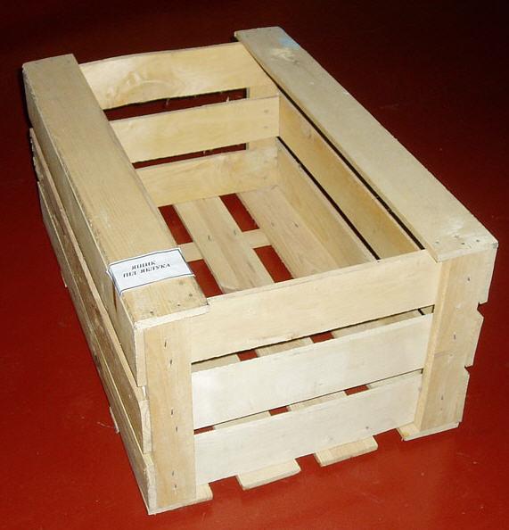 Как сделать деревянный ящик из досок 104